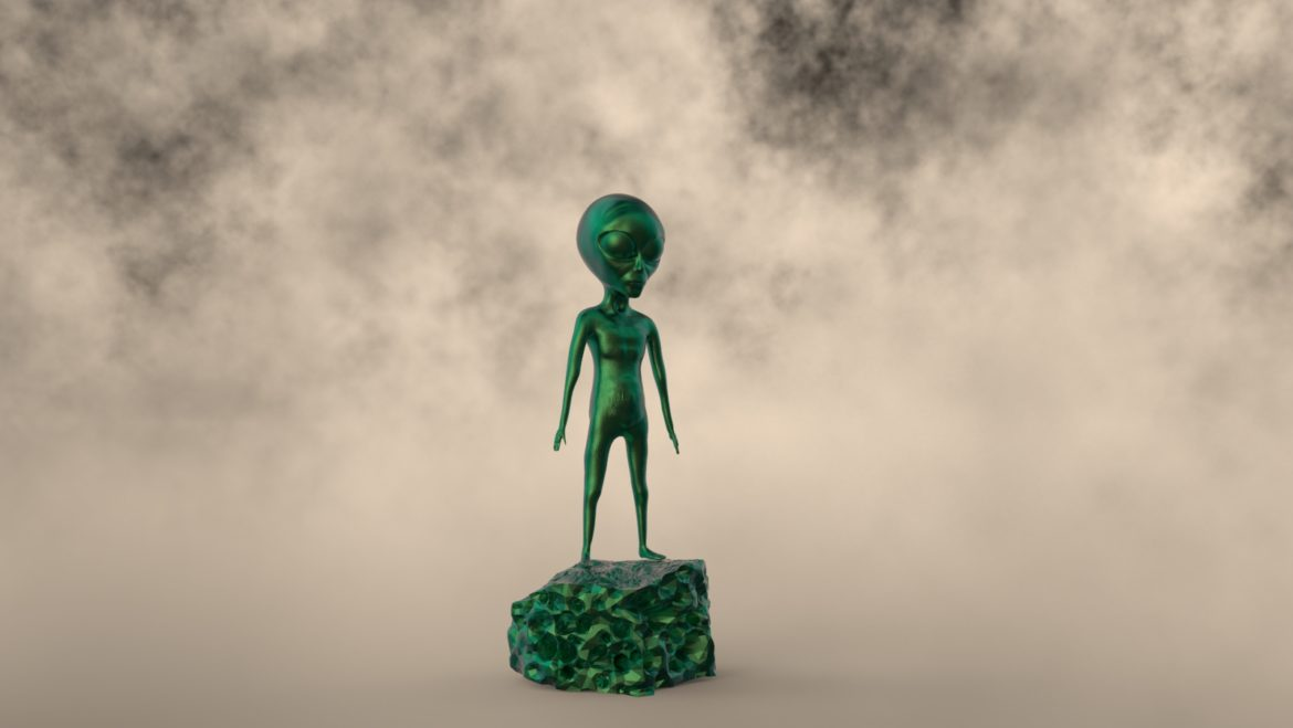 alien – 15 3d model obj ztl 295974