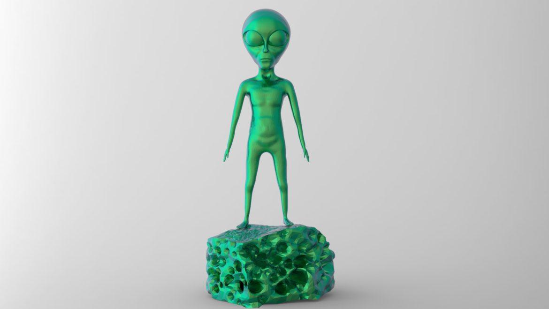 alien – 15 3d model obj ztl 295975