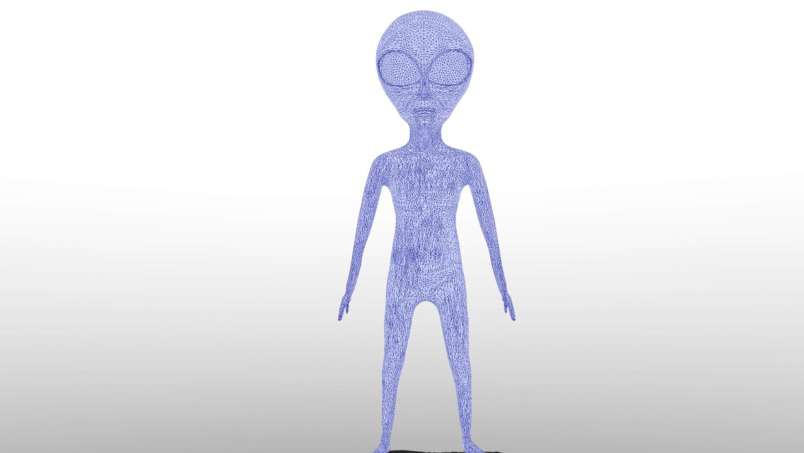 alien – 15 3d model obj ztl 295979