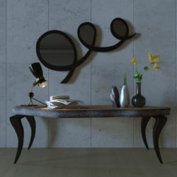 table and mirror-16 3d model max obj 295985
