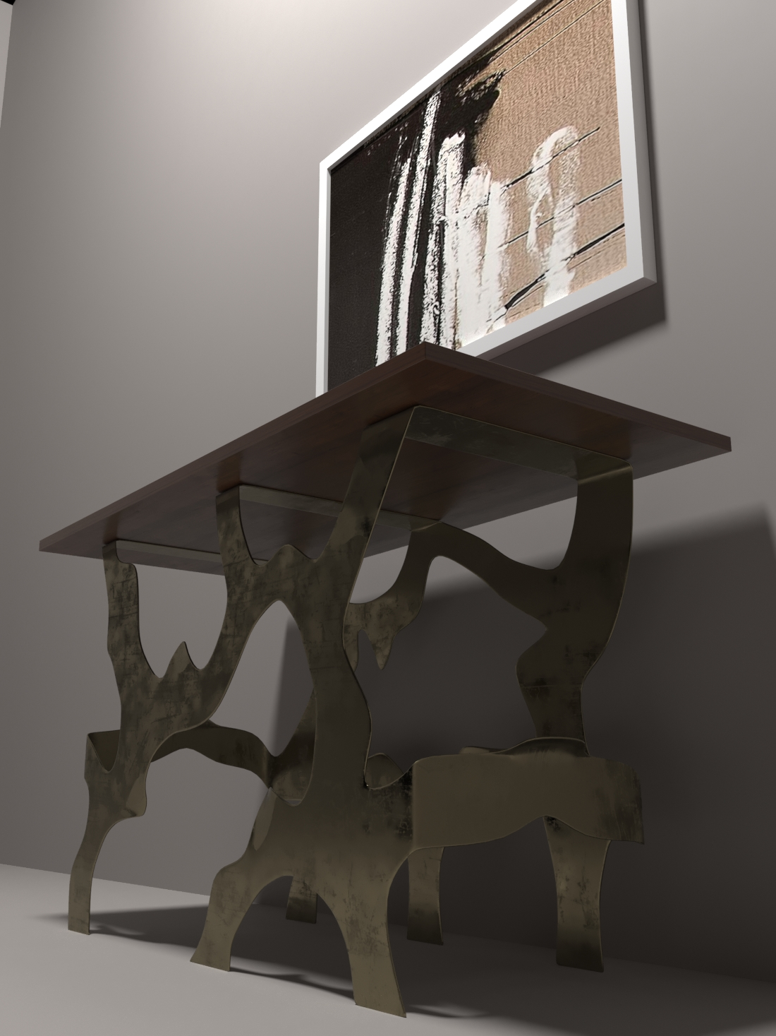 modern table-20 3d model max obj 296025
