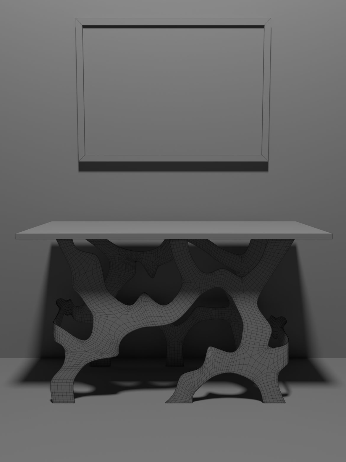 modern table-20 3d model max obj 296027