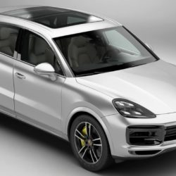 model porsche cayenne turbo 2018 3d model 3ds max fbx c4d am fwy o wybodaeth 296092