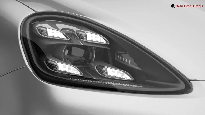 porsche cayenne turbo 2018 3d model 3ds max fbx c4d lwo ma mb obj 296101