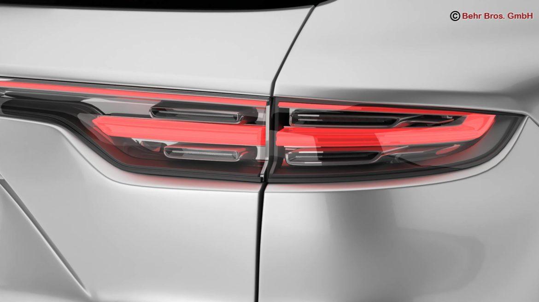 porsche cayenne turbo 2018 3d model 3ds max fbx c4d lwo ma mb obj 296102