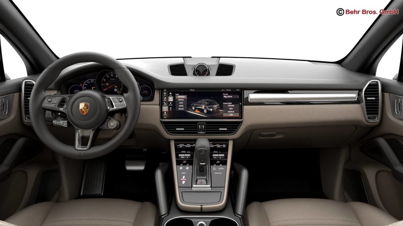 porsche cayenne turbo 2018 3d model 3ds max fbx c4d lwo ma mb obj 296105