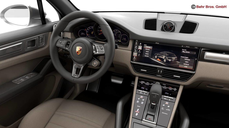 porsche cayenne turbo 2018 3d model 3ds max fbx c4d lwo ma mb obj 296106