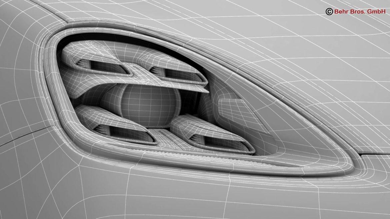 porsche cayenne turbo 2018 3d model 3ds max fbx c4d lwo ma mb obj 296116
