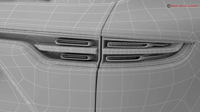 porsche cayenne turbo 2018 3d model 3ds max fbx c4d lwo ma mb obj 296117