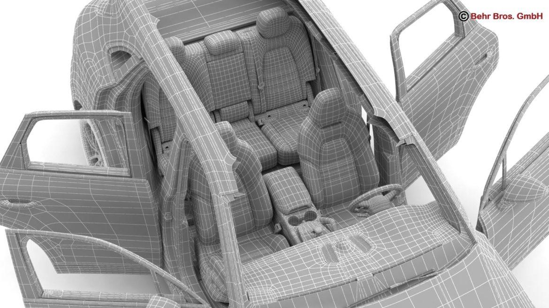 porsche cayenne turbo 2018 3d model 3ds max fbx c4d lwo ma mb obj 296118