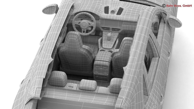 porsche cayenne turbo 2018 3d model 3ds max fbx c4d lwo ma mb obj 296119