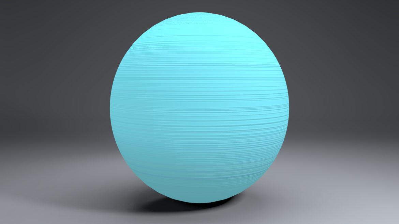 uranus globe 3d líkan 3ds fbx blanda dag eftir 296131