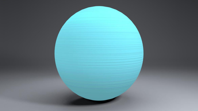 uranus globe 3d líkan 3ds fbx blanda dag eftir 296135