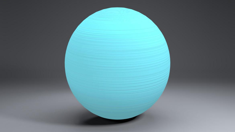 uranus globe 3d líkan 3ds fbx blanda dag eftir 296136