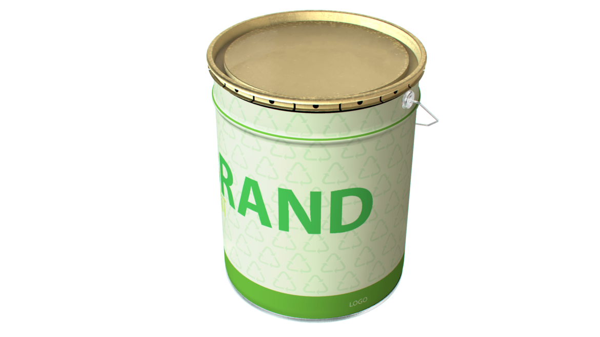 paint cans 3d model max fbx psd obj 296286