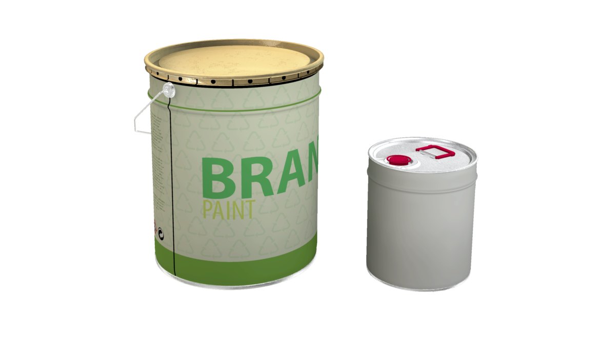 paint cans 3d model max fbx psd obj 296297