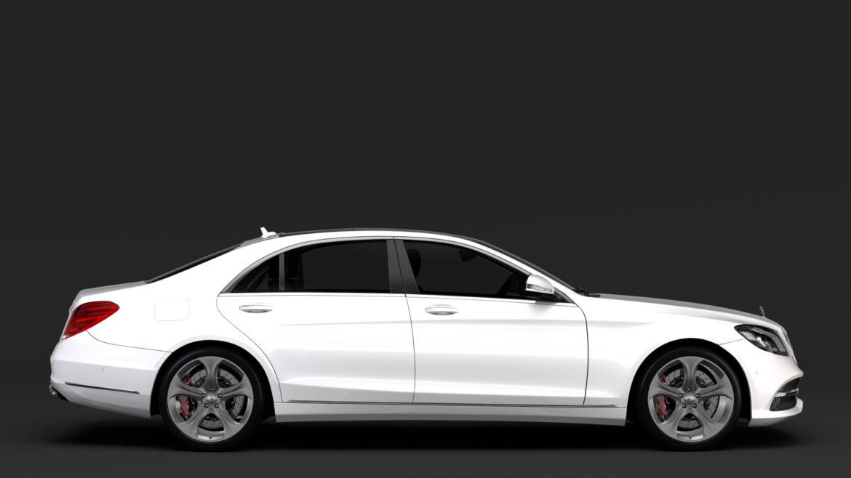 mercedes benz s 450 lang 4matic v222 2018 3d model 3ds max fbx c4d lwo ma mb hrc xsi obj 296376