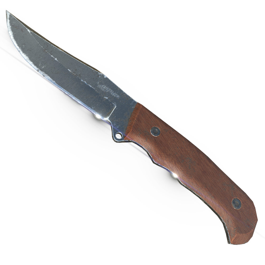 caspian knife 3d model 3ds fbx blend obj 296416