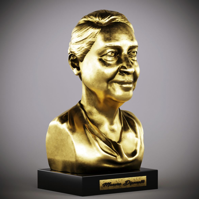 golden woman27 3d model max obj 296479