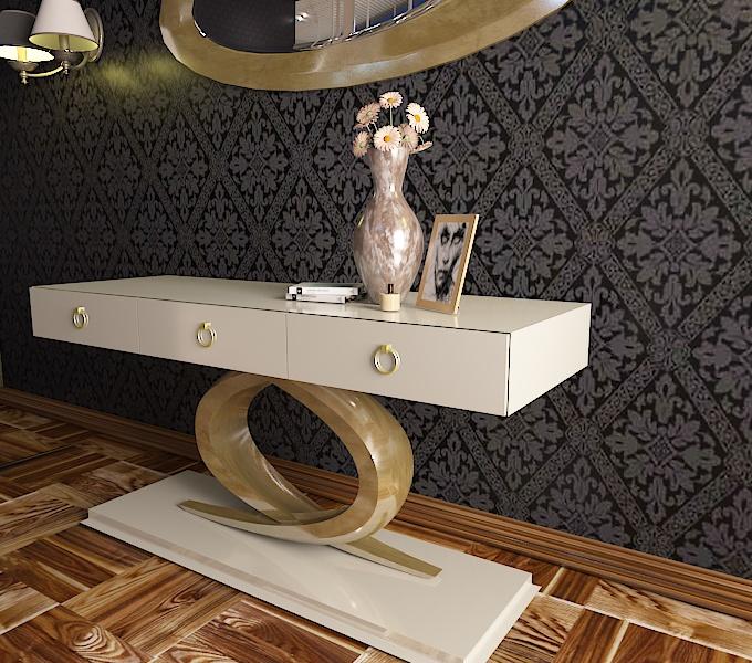 ceramic table 5 3d model 3ds obj 296576