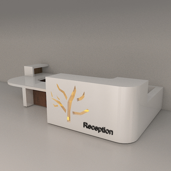 reception 6 3d model max obj 296597