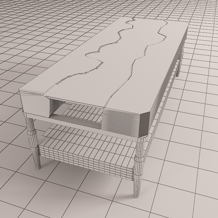 resin table 7 3d model max obj 296615