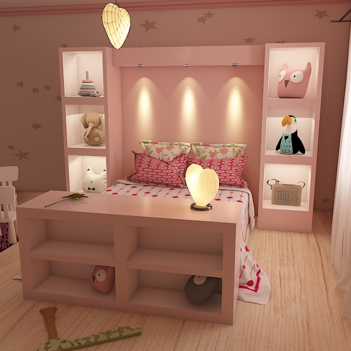 kids room 9 3d model max obj 296711