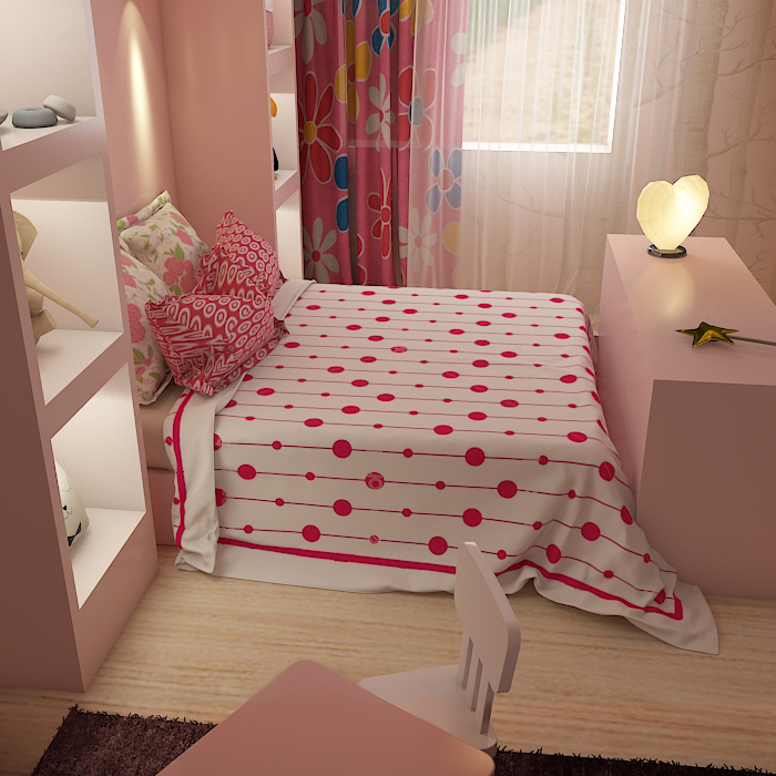 kids room 9 3d model max obj 296712