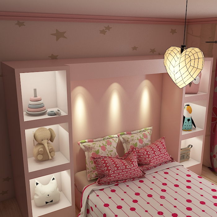 kids room 9 3d model max obj 296713