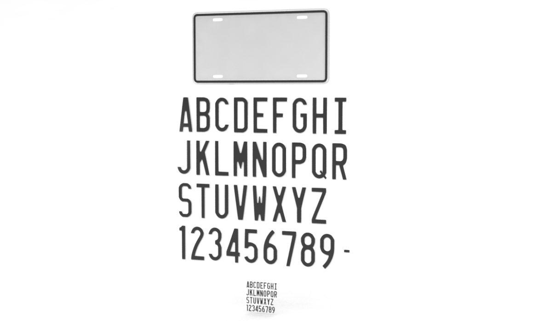 car license plate 3d model 3ds max fbx obj 296831