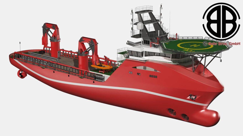 vispārējs atbalsta kuģis 3d modelis 3ds max fbx c4d lwo ma mb obj 297015