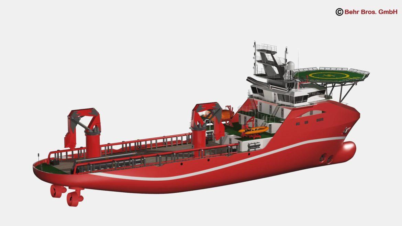 vispārējs atbalsta kuģis 3d modelis 3ds max fbx c4d lwo ma mb obj 297016