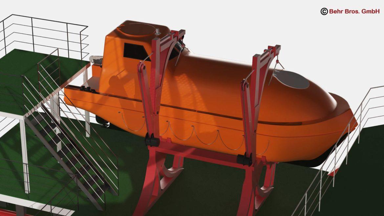 generic support vessel 3d model 3ds max fbx c4d lwo ma mb obj 297017