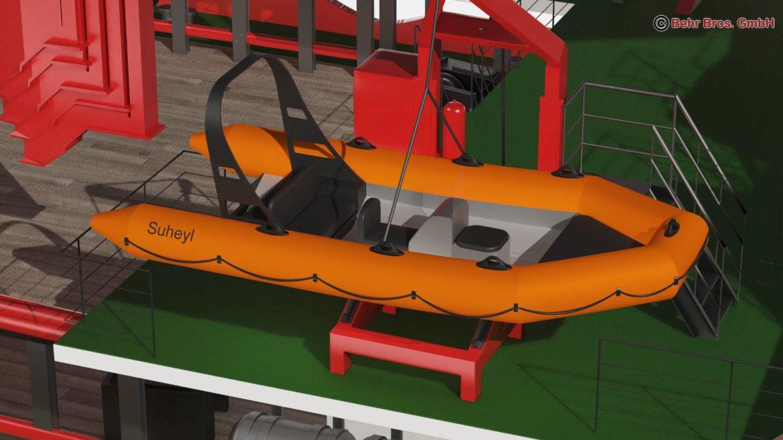 generic support vessel 3d model 3ds max fbx c4d lwo ma mb obj 297018