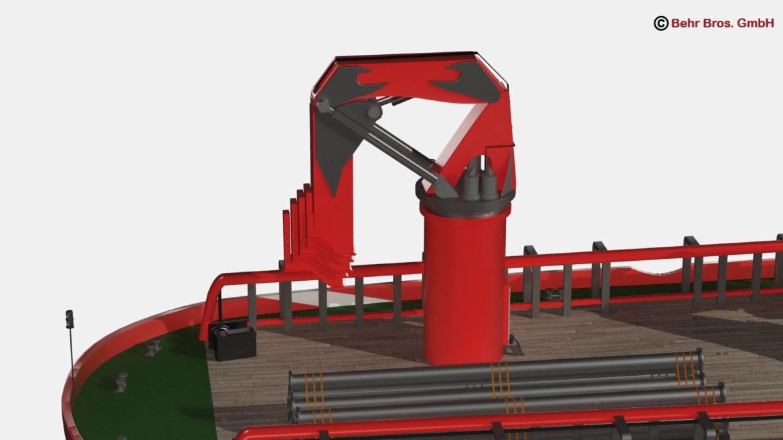 generic support vessel 3d model 3ds max fbx c4d lwo ma mb obj 297019