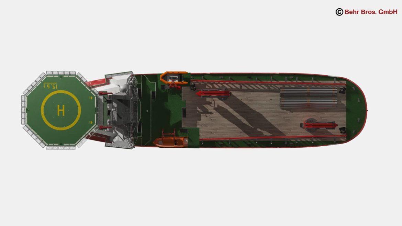vispārējs atbalsta kuģis 3d modelis 3ds max fbx c4d lwo ma mb obj 297020