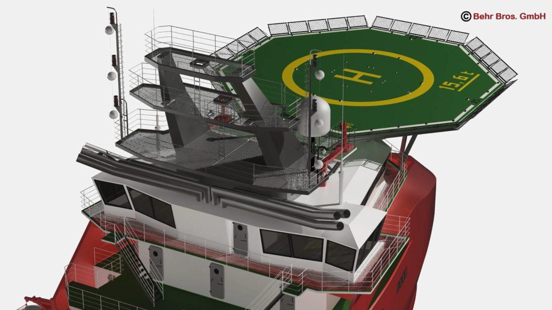 generic support vessel 3d model 3ds max fbx c4d lwo ma mb obj 297021