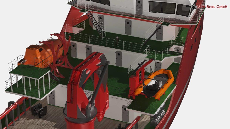 generic support vessel 3d model 3ds max fbx c4d lwo ma mb obj 297022