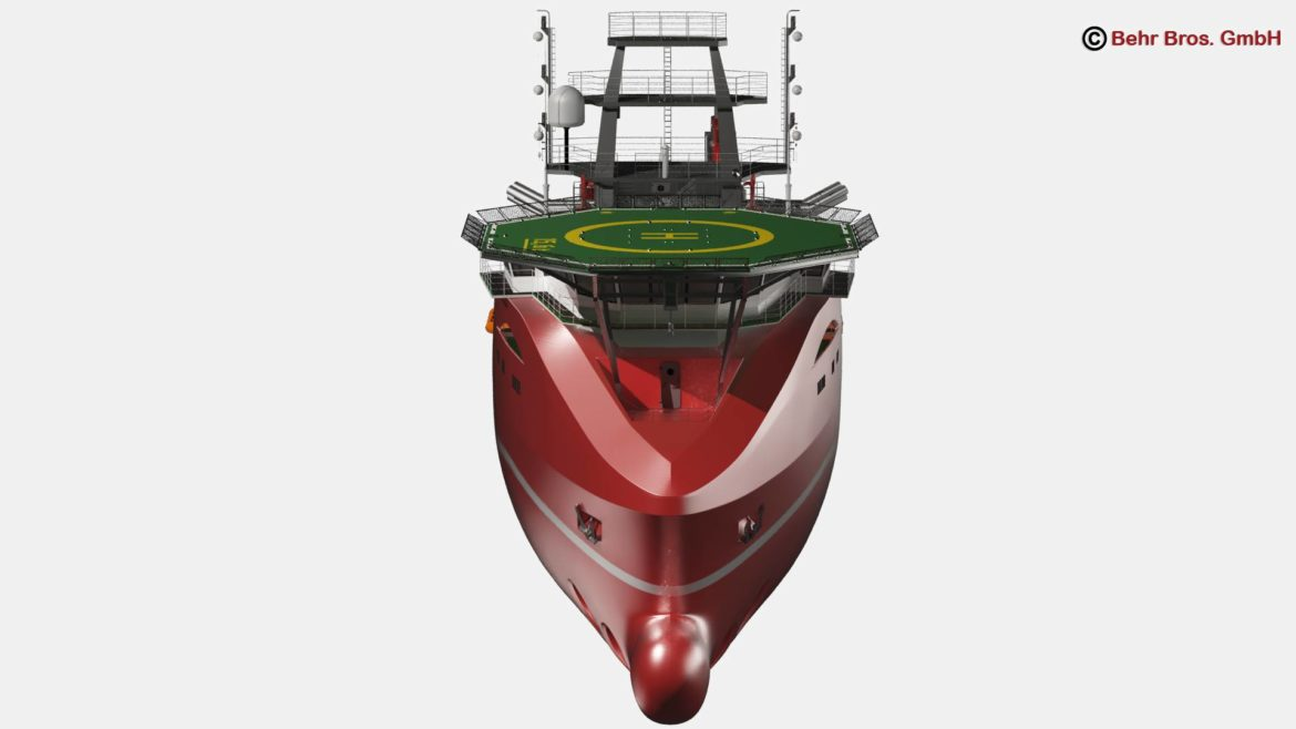 generic support vessel 3d model 3ds max fbx c4d lwo ma mb obj 297023