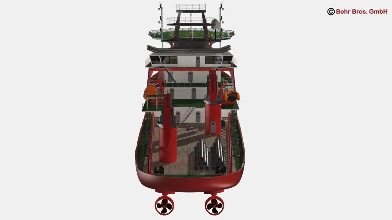 generic support vessel 3d model 3ds max fbx c4d lwo ma mb obj 297024