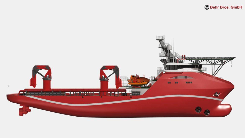 vispārējs atbalsta kuģis 3d modelis 3ds max fbx c4d lwo ma mb obj 297025
