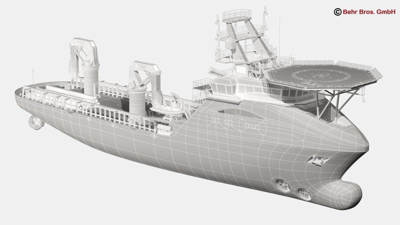 generic support vessel 3d model 3ds max fbx c4d lwo ma mb obj 297026