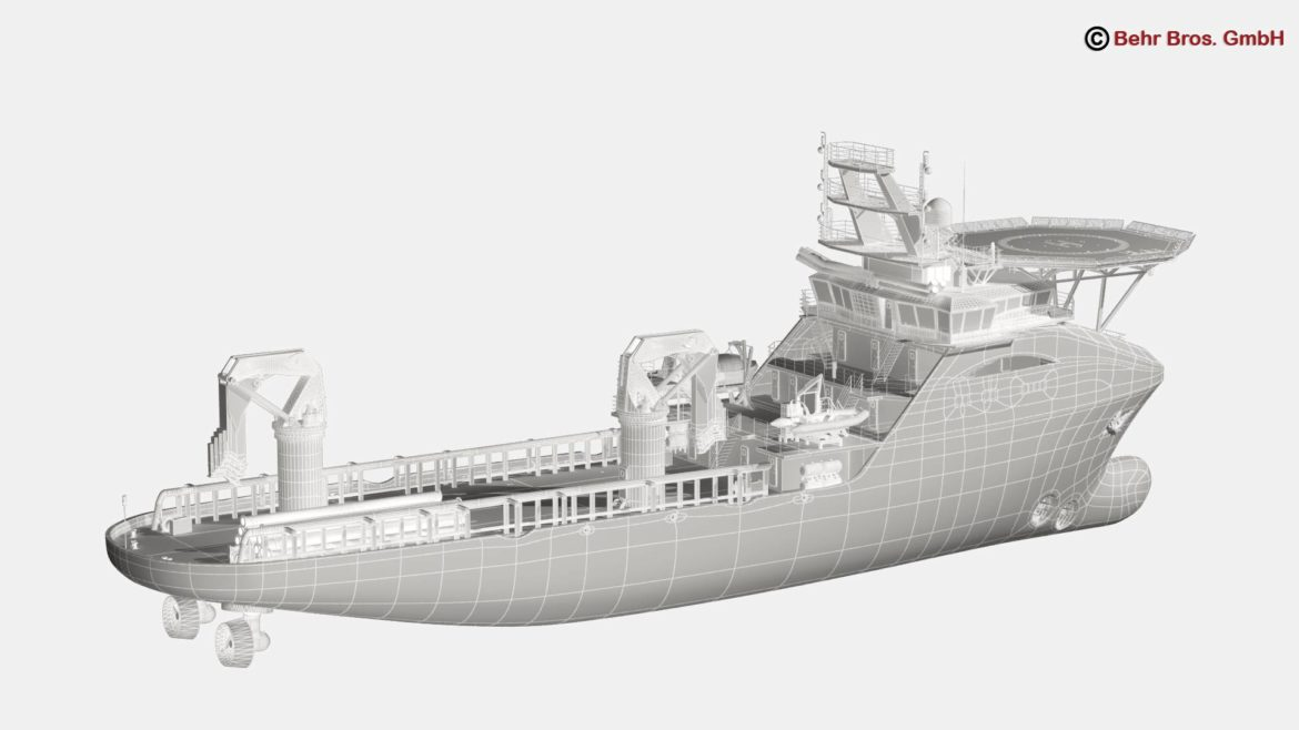 generic support vessel 3d model 3ds max fbx c4d lwo ma mb obj 297027