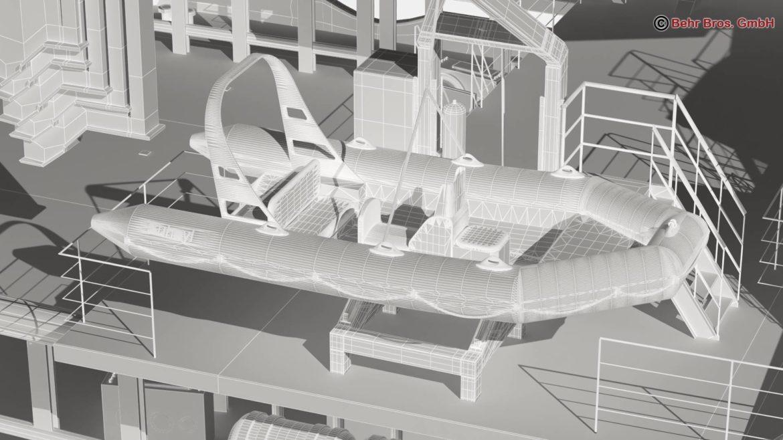 generic support vessel 3d model 3ds max fbx c4d lwo ma mb obj 297029