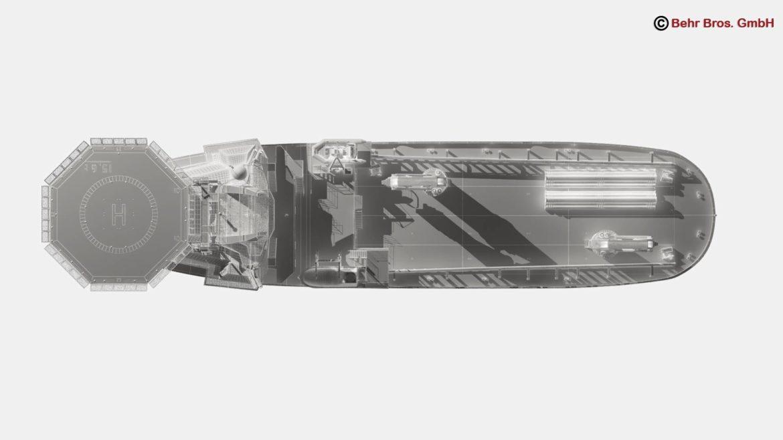 generic support vessel 3d model 3ds max fbx c4d lwo ma mb obj 297031