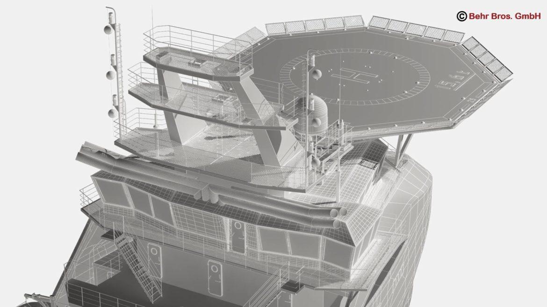 generic support vessel 3d model 3ds max fbx c4d lwo ma mb obj 297032