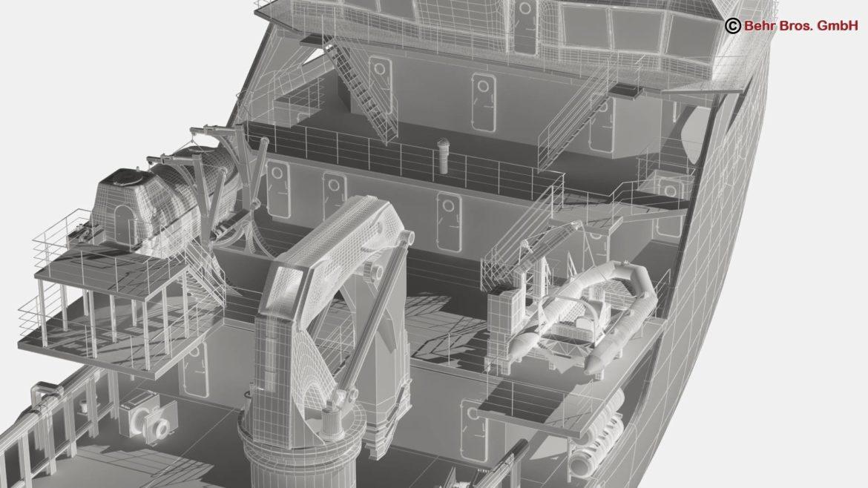 generic support vessel 3d model 3ds max fbx c4d lwo ma mb obj 297033