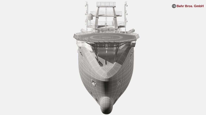 generic support vessel 3d model 3ds max fbx c4d lwo ma mb obj 297034