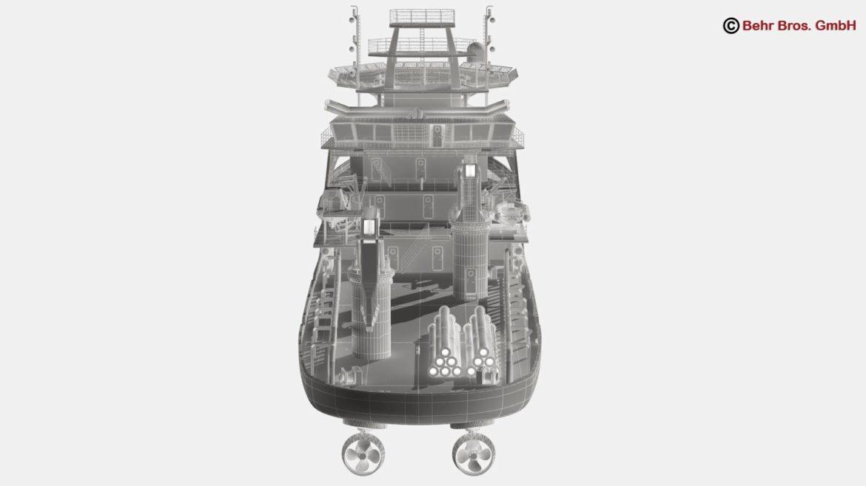 generic support vessel 3d model 3ds max fbx c4d lwo ma mb obj 297035