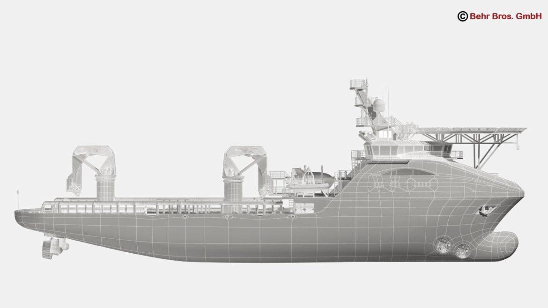 generic support vessel 3d model 3ds max fbx c4d lwo ma mb obj 297036